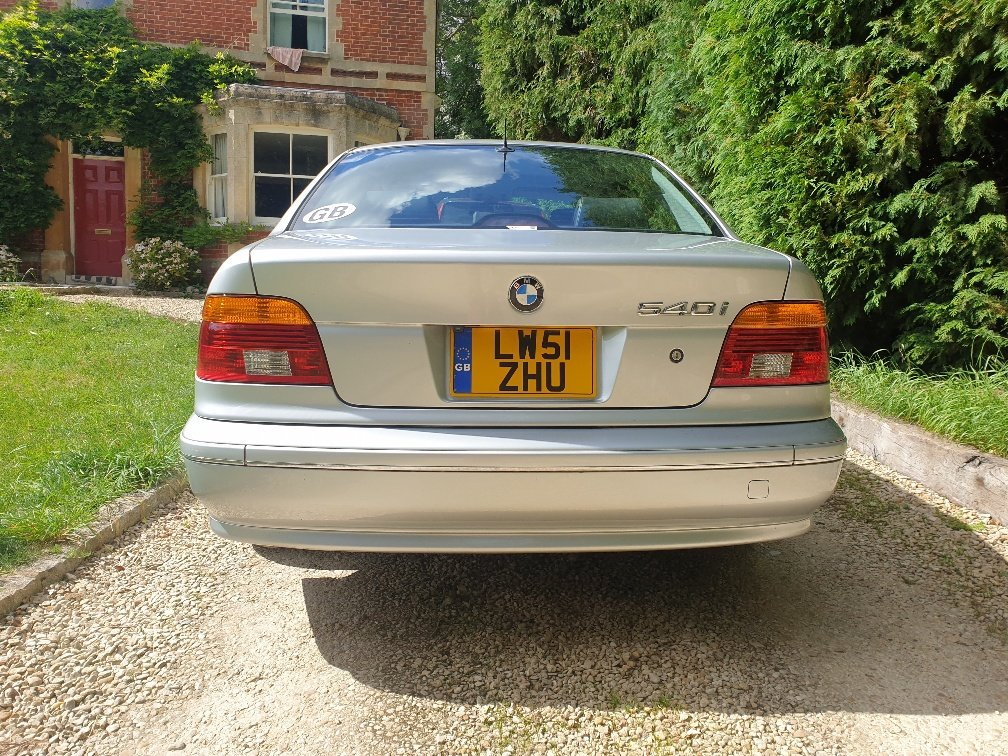 2001 BMW E39 540i Very Low Mileage For Sale (picture 5 of 6)