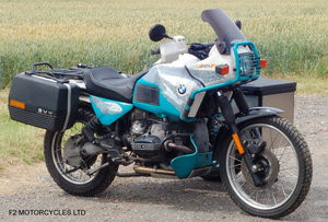 Picture of 1993 BMW R100GS PD solo £7200 or with sidecar £8750