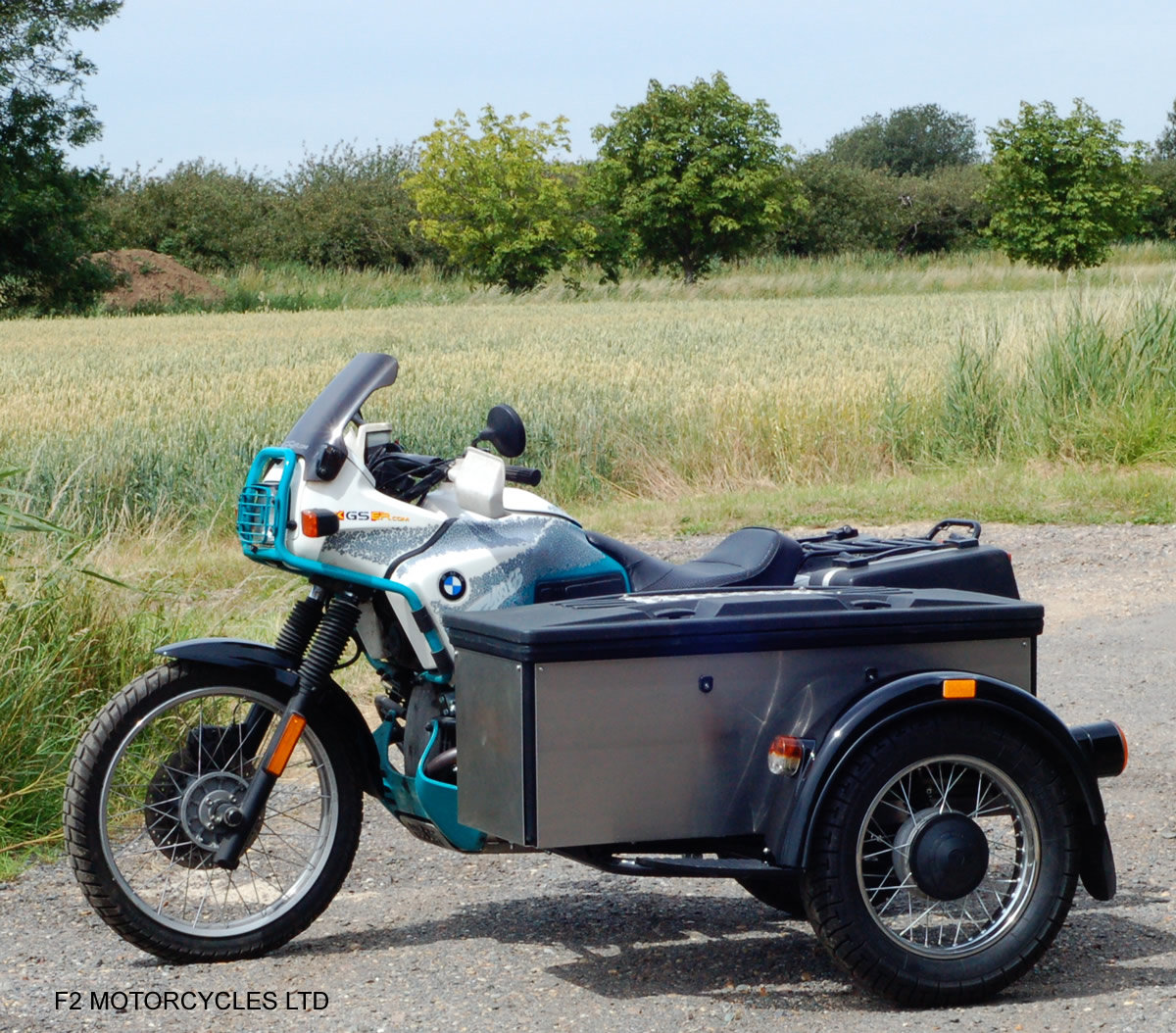1993 BMW R100GS PD sidecar outfit, One owner, MOT. good condition For Sale (picture 2 of 6)