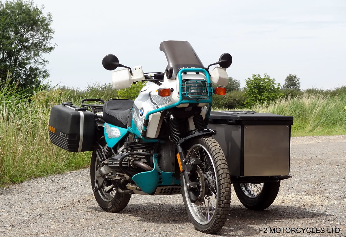 1993 BMW R100GS PD sidecar outfit, One owner, MOT. good condition For Sale (picture 3 of 6)