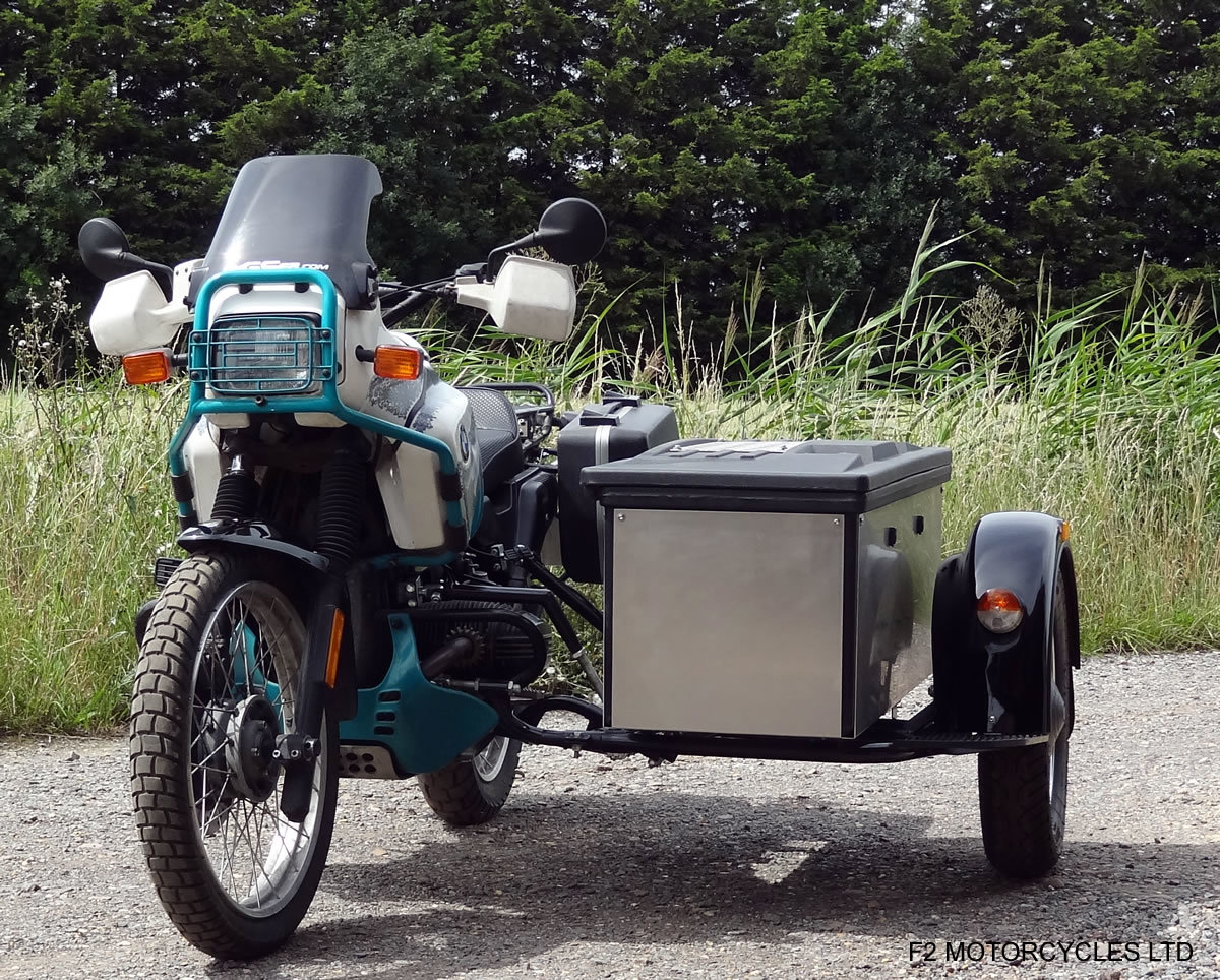 1993 BMW R100GS PD sidecar outfit, One owner, MOT. good condition For Sale (picture 4 of 6)
