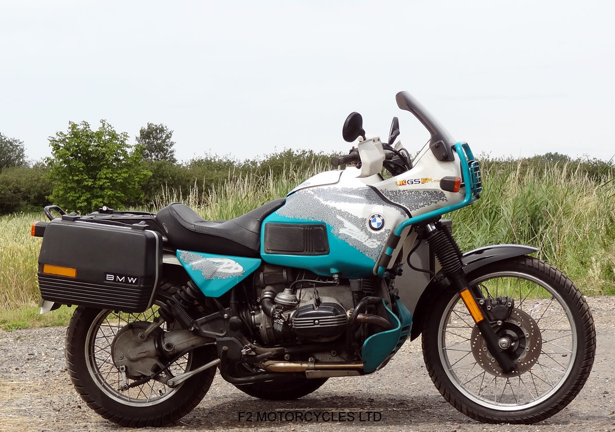 1993 BMW R100GS PD sidecar outfit, One owner, MOT. good condition For Sale (picture 6 of 6)