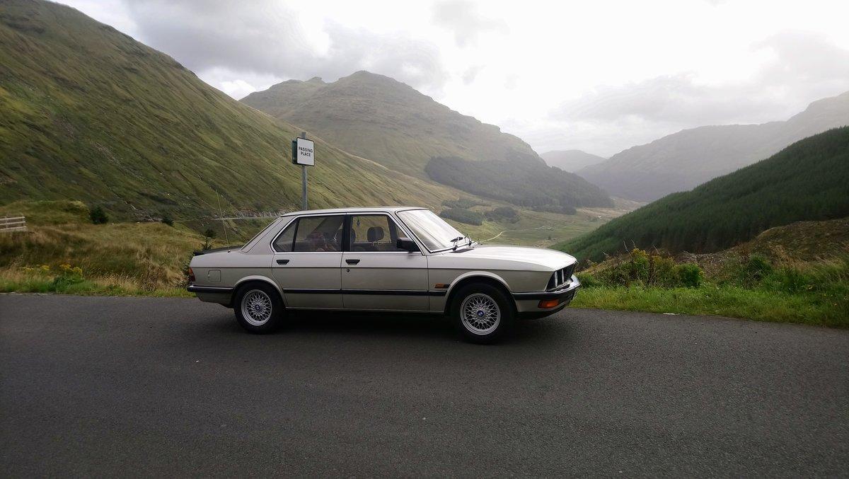 1985 BMW E28 525E For Sale (picture 1 of 6)