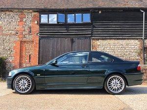2002 E46 BMW 325ci Sport – Rare Oxford Green