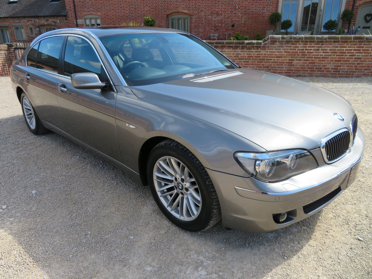 2007 BMW 750 Li V8 LWB AUTO  COVERED 28K MILES 1 OWNER FROM NEW For Sale (picture 1 of 6)