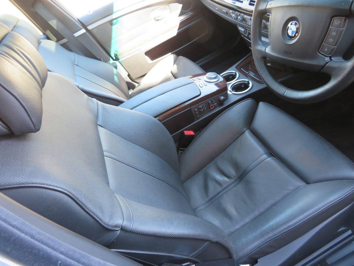 2007 BMW 750 Li V8 LWB AUTO  COVERED 28K MILES 1 OWNER FROM NEW For Sale (picture 3 of 6)