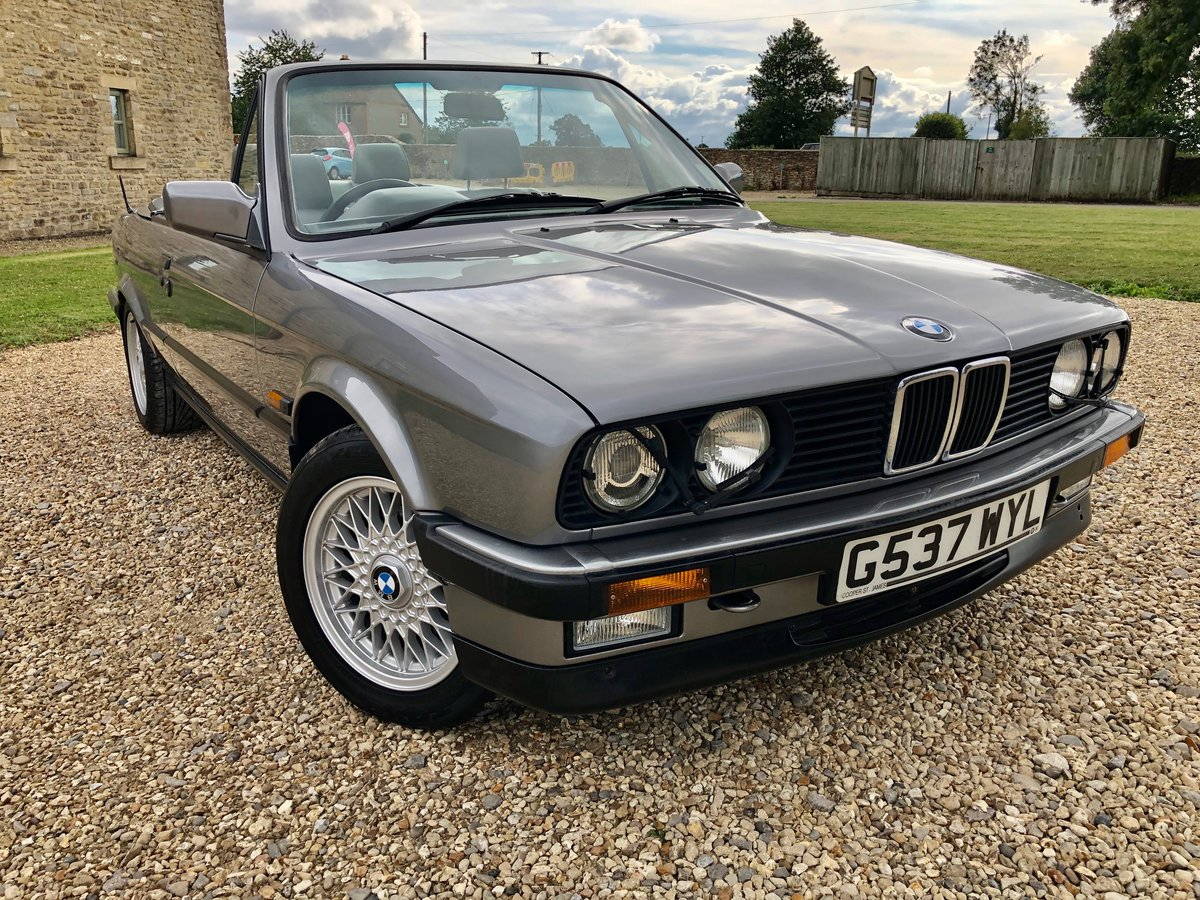 1989 E30 325i Motorsport edition cabriolet SOLD (picture 1 of 6)