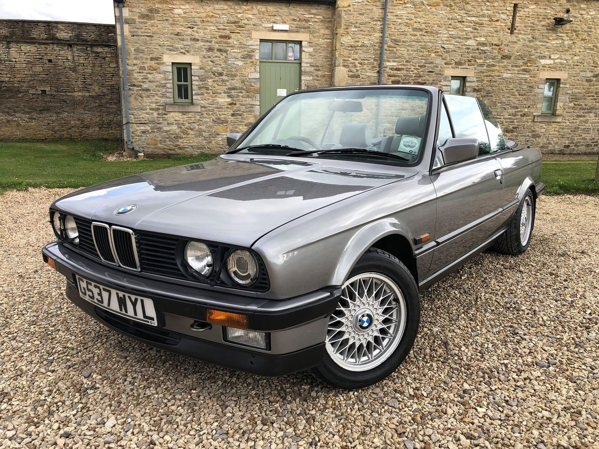 1989 E30 325i Motorsport edition cabriolet SOLD (picture 4 of 6)