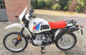 1982 BMW R80 GS Paris-Dakar Motorcycle