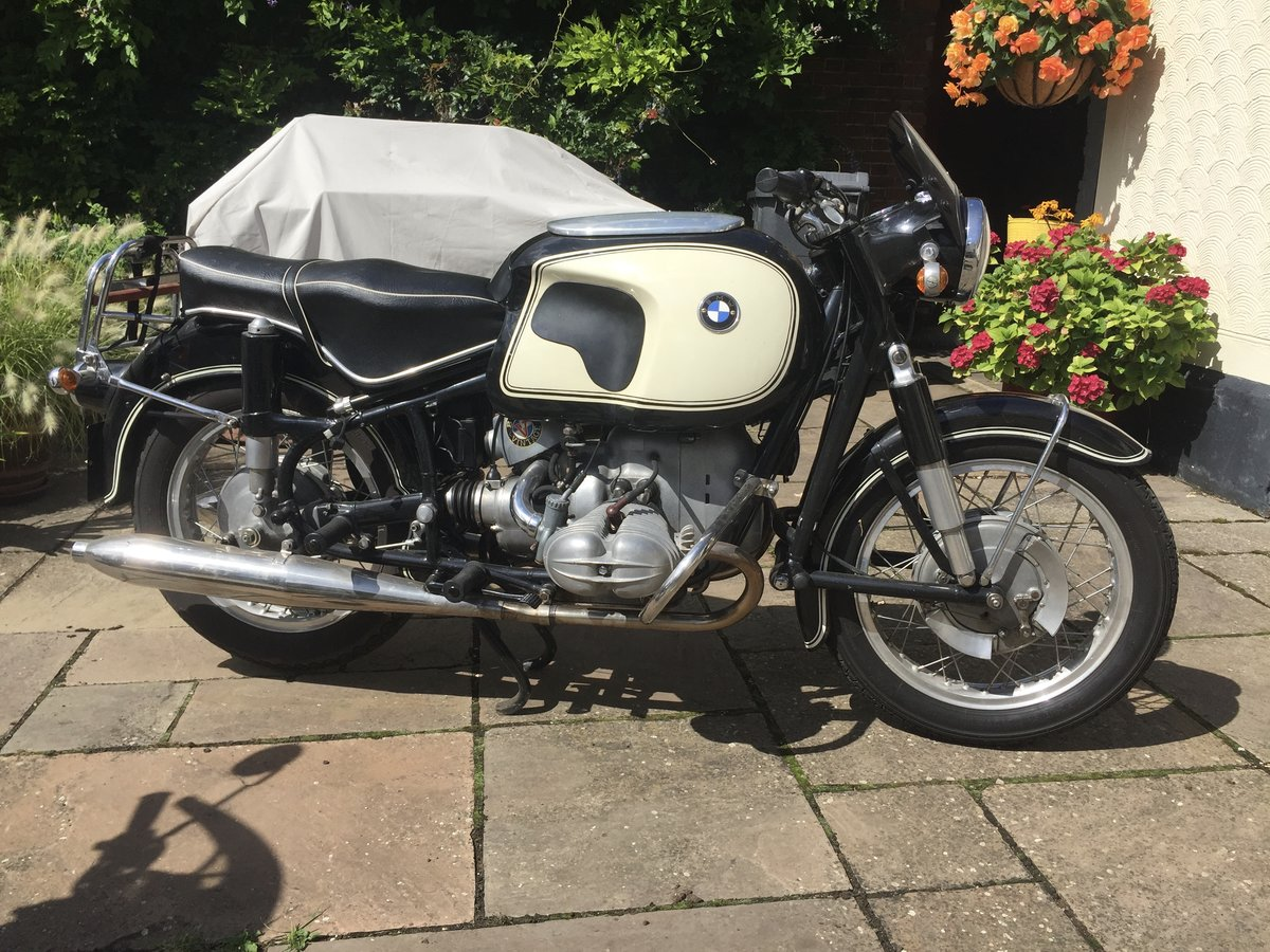 1963 BMW R69S classic motorcycle For Sale (picture 1 of 4)