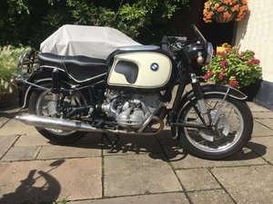 1963 BMW R69S classic motorcycle