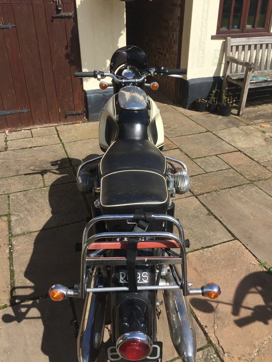 1963 BMW R69S classic motorcycle For Sale (picture 3 of 4)