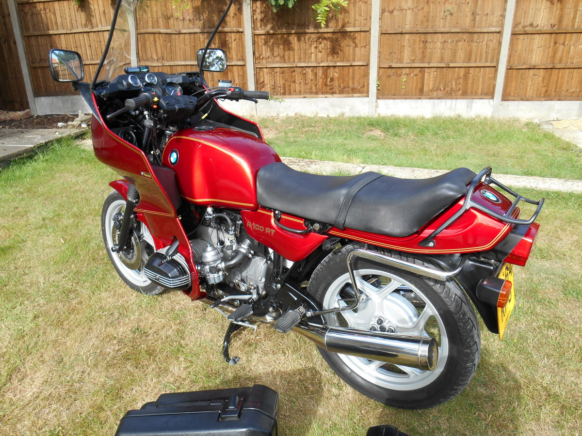 1989 BMW R100 RT For Sale (picture 5 of 6)