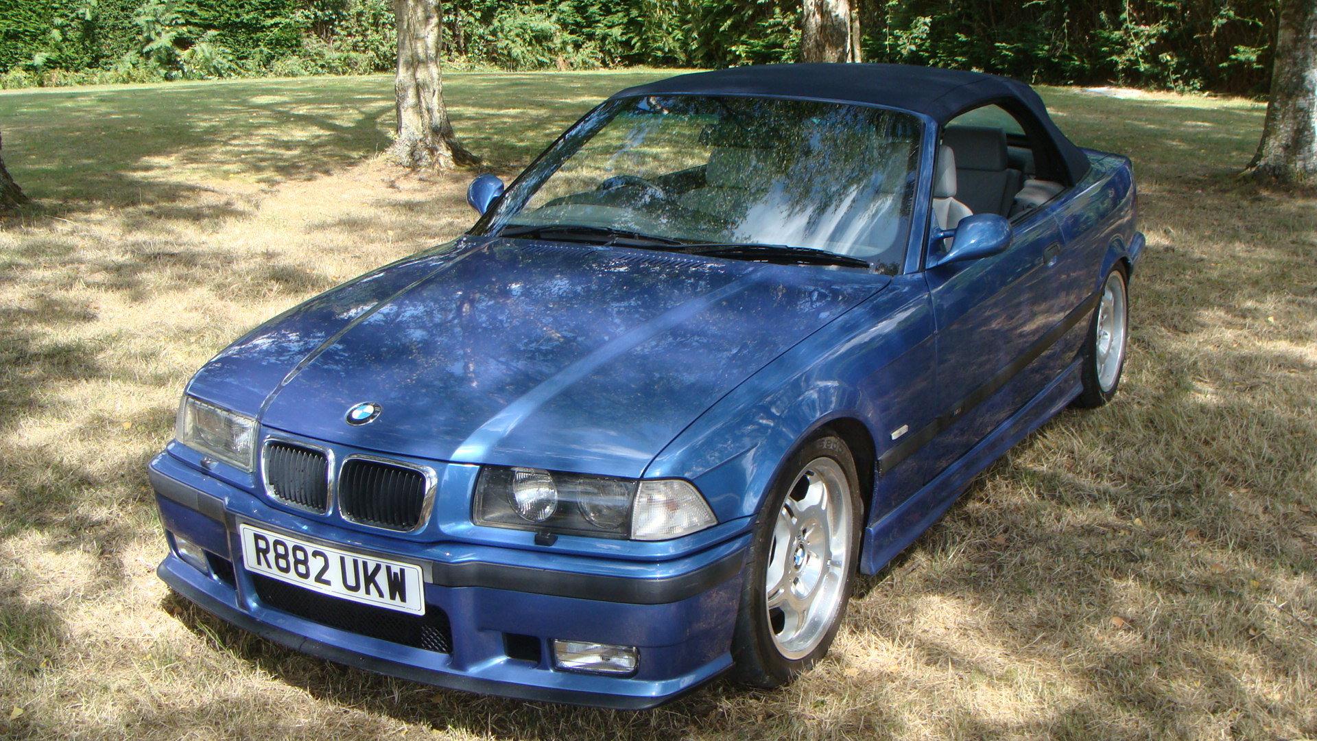 1997 BMW M3 Evolution Cabriolet in Estoril Blue For Sale (picture 3 of 6)