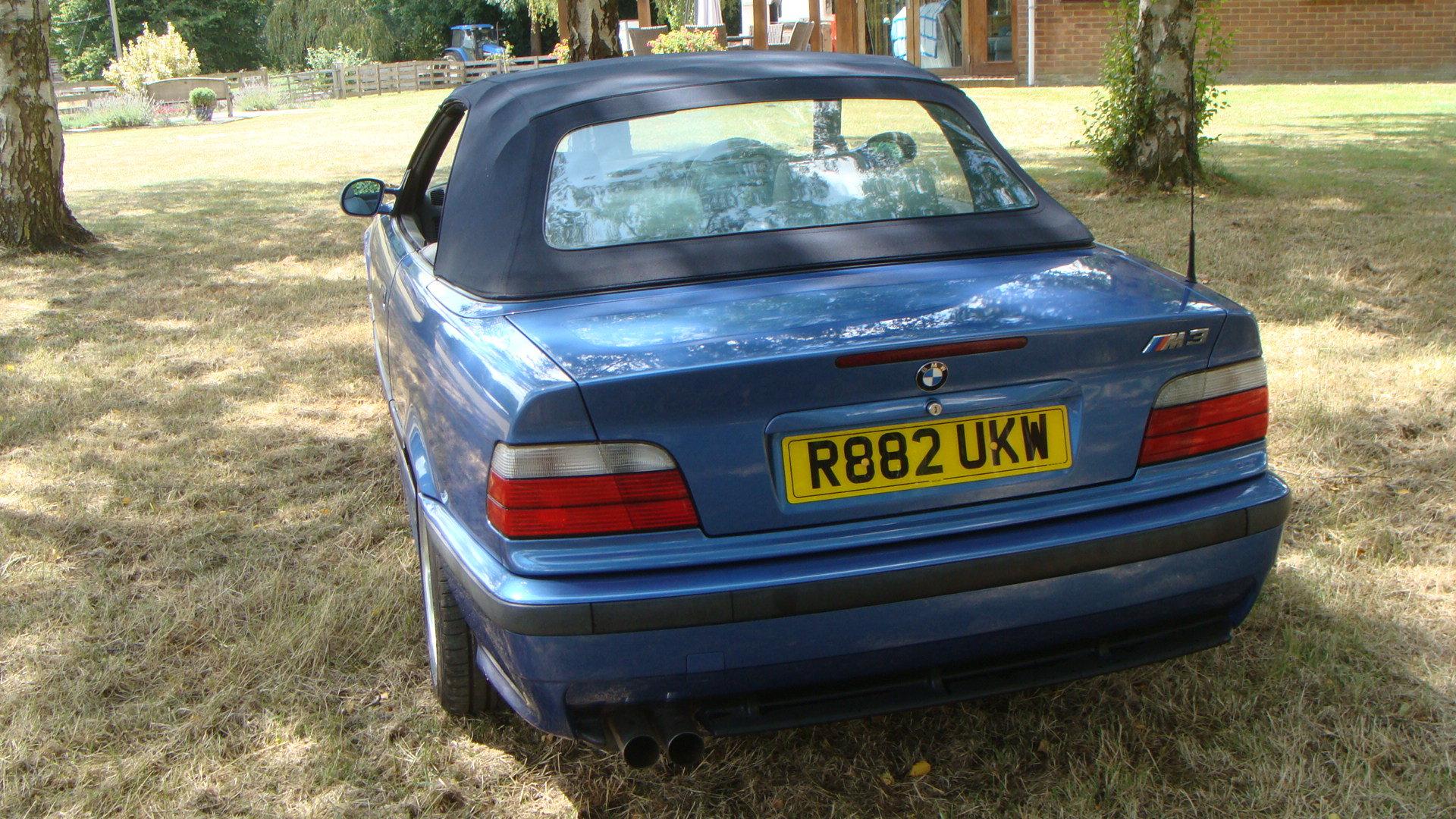 1997 BMW M3 Evolution Cabriolet in Estoril Blue For Sale (picture 6 of 6)