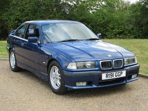 1998 BMW E36 318 IS Coupe at ACA 22nd August