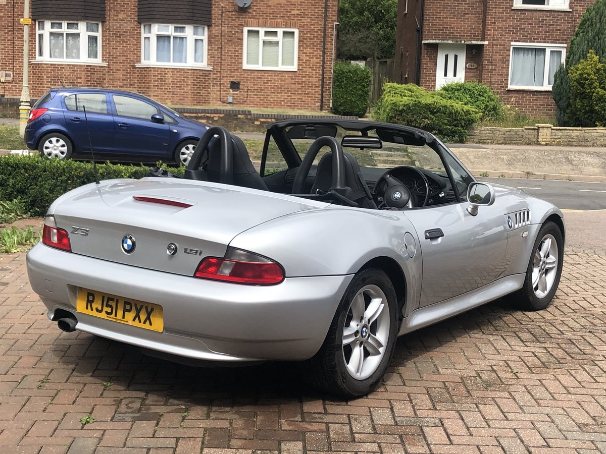 2001 BMW Z3 With FULL SERVICE HISTORY For Sale (picture 3 of 6)