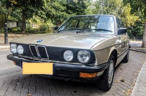 BMW E28 520i Lux - 5 Series Bronzit Sharknose