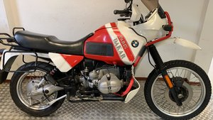 BMW r100 GS paris dakar