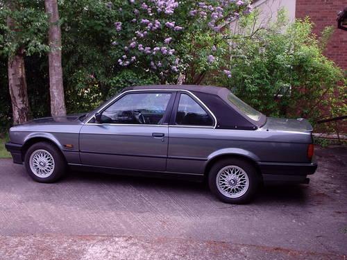 1991 Bmw 325i Baur Cabriolet Convertible E30 Sold Car