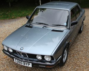 BMW 528iSE Auto 43,000 Miles, Owned by a Sir