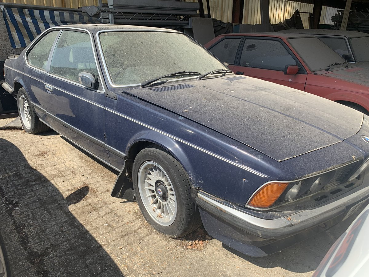 1984 BMW 635csi coupe For Sale (picture 1 of 6)