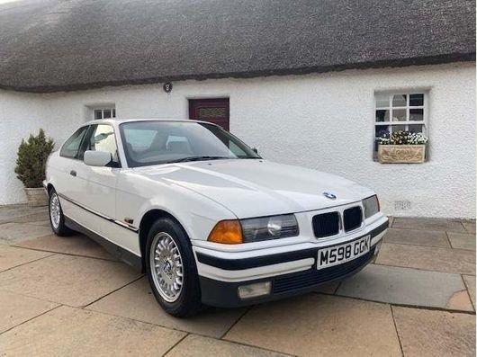 1994 Time warp retro BMW 1.6 i E36  Auto, For Sale (picture 1 of 6)