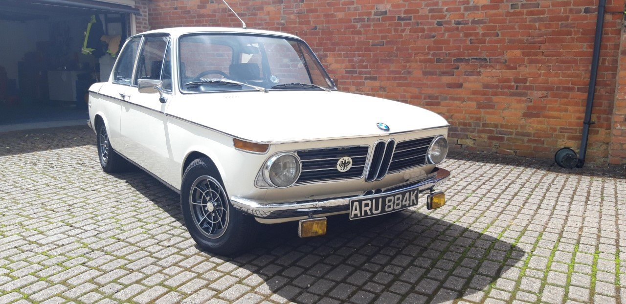 1972 BMW 2002 Fully restored SOLD (picture 2 of 6)