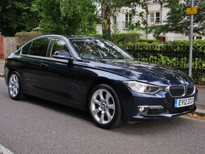 BMW 335i RARE 'LUXURY LINE' SALOON 2012 2 OWNERS FSH D/BLUE