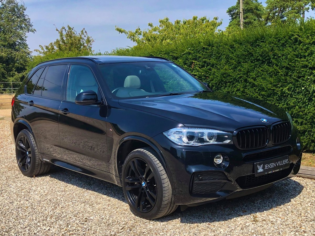 2015 BMW X5 M50d **2 Owners, FBMWSH, Panoramic Roof, 7 Seater** For Sale (picture 1 of 6)