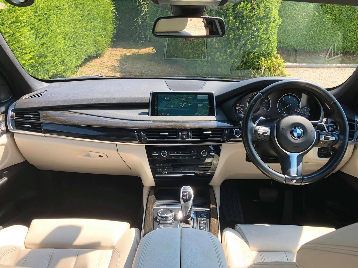 2015 BMW X5 M50d **2 Owners, FBMWSH, Panoramic Roof, 7 Seater** For Sale (picture 3 of 6)