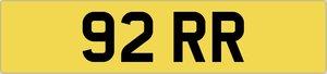 2011 Cherished Number 92 RR