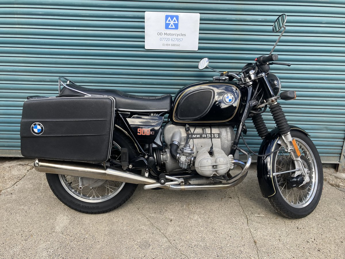 1976 BMW R90/6. Good condition. Matching numbers SOLD (picture 1 of 6)