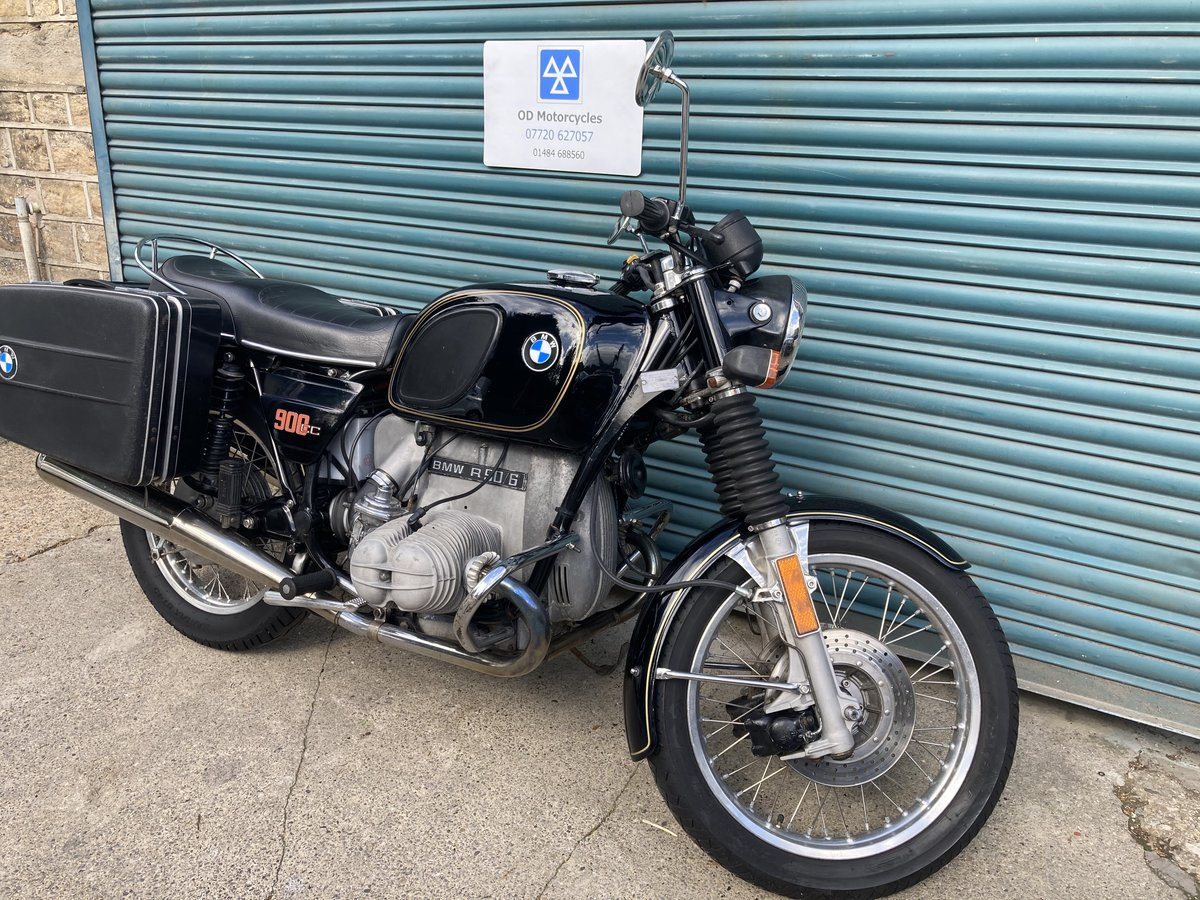 1976 BMW R90/6. Good condition. Matching numbers SOLD (picture 2 of 6)