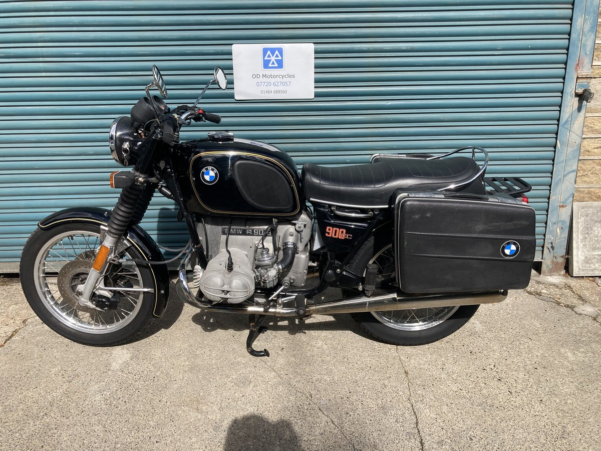 1976 BMW R90/6. Good condition. Matching numbers SOLD (picture 3 of 6)