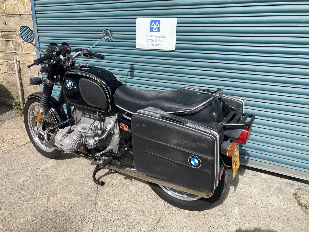1976 BMW R90/6. Good condition. Matching numbers SOLD (picture 4 of 6)