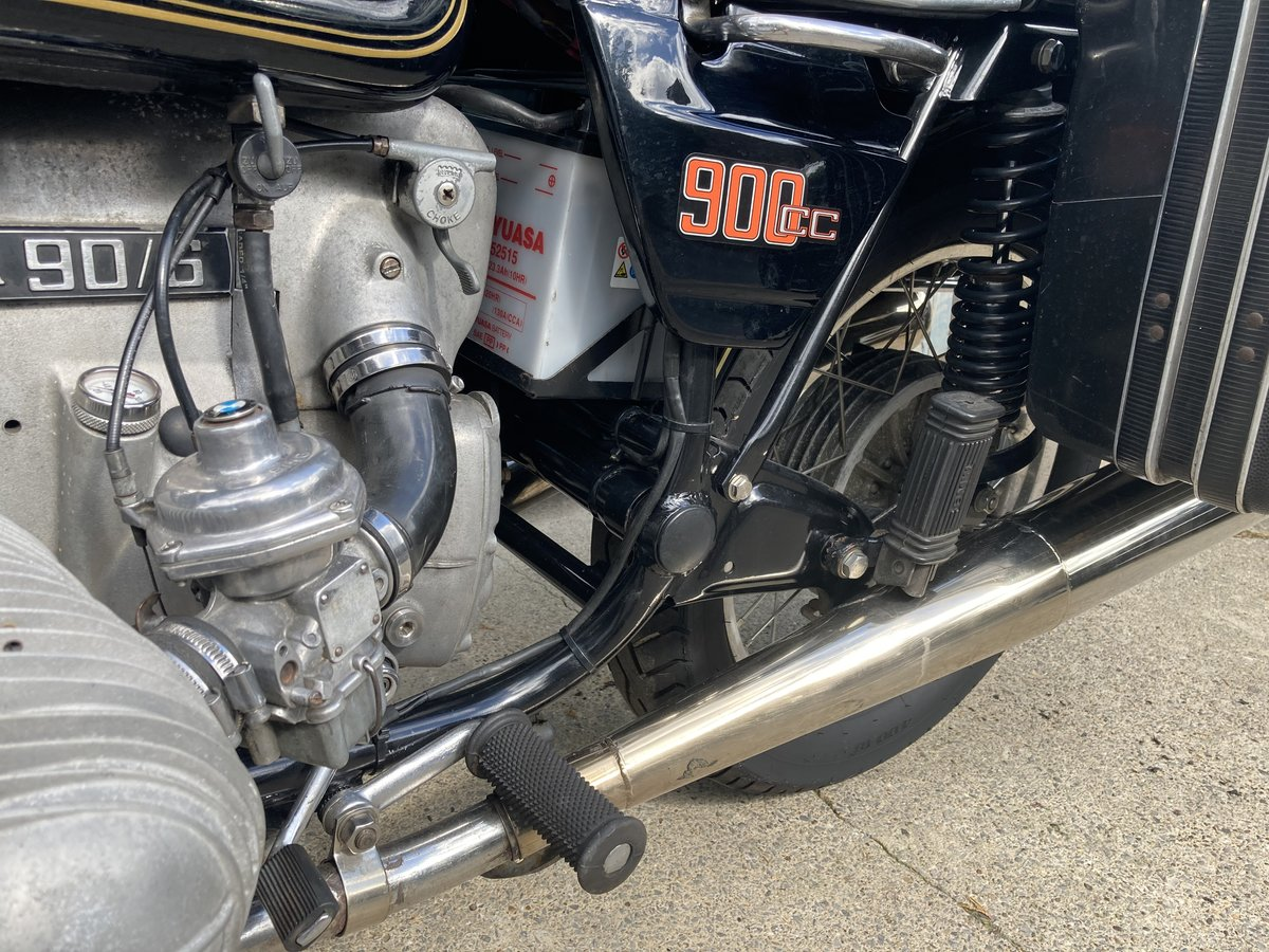 1976 BMW R90/6. Good condition. Matching numbers SOLD (picture 6 of 6)