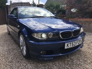 2003/53 BMW 330Ci Convertible SMG **DEPOSIT TAKEN**