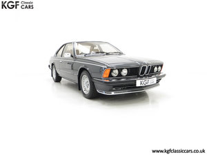 1980 A Magnificent E24 BMW 635 CSi with a Remarkable 23,047 Miles SOLD