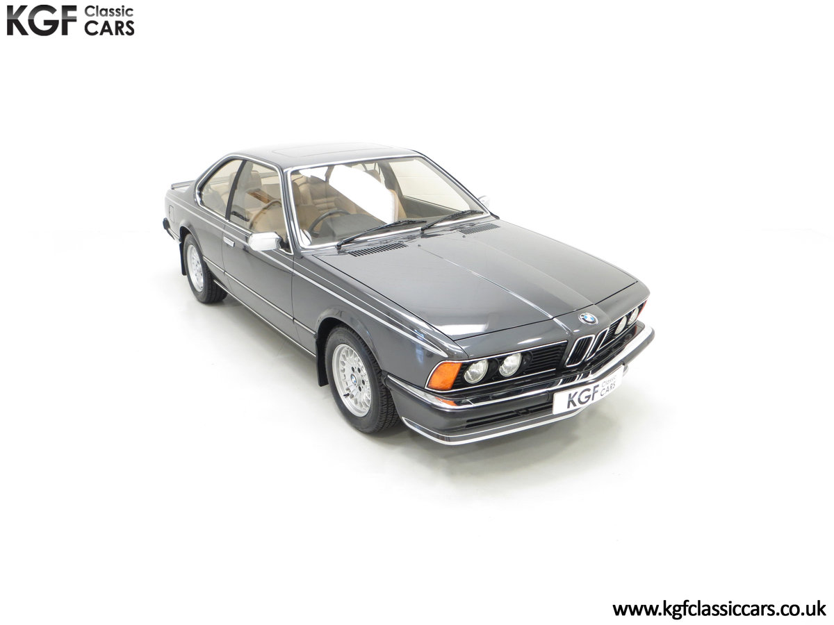 1980 A Magnificent E24 BMW 635 CSi with a Remarkable 23,047 Miles SOLD (picture 2 of 24)