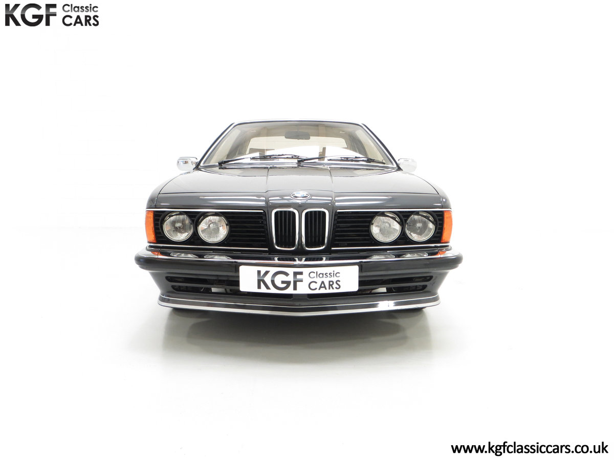 1980 A Magnificent E24 BMW 635 CSi with a Remarkable 23,047 Miles SOLD (picture 3 of 24)