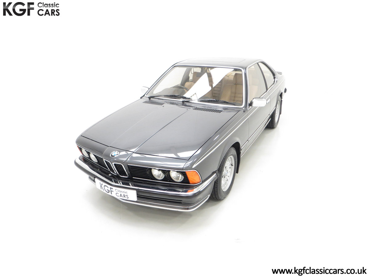 1980 A Magnificent E24 BMW 635 CSi with a Remarkable 23,047 Miles SOLD (picture 5 of 24)