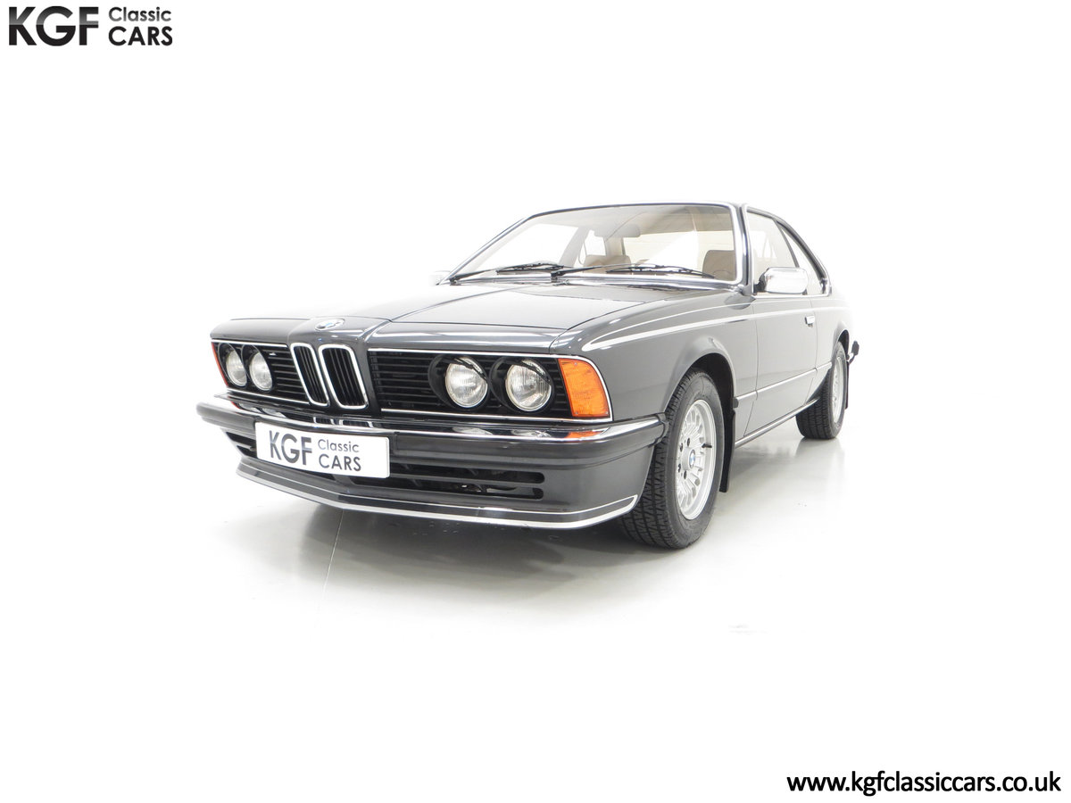 1980 A Magnificent E24 BMW 635 CSi with a Remarkable 23,047 Miles SOLD (picture 6 of 24)