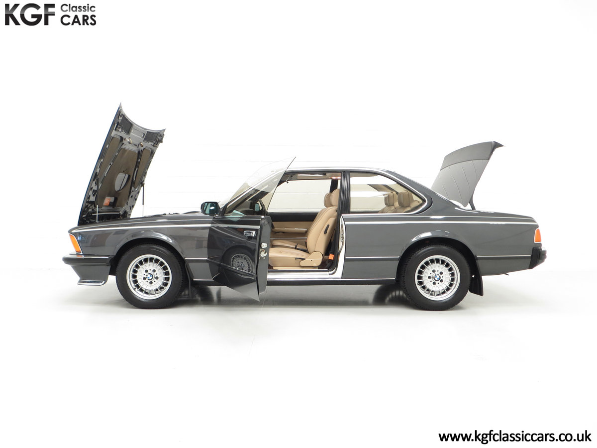 1980 A Magnificent E24 BMW 635 CSi with a Remarkable 23,047 Miles SOLD (picture 7 of 24)