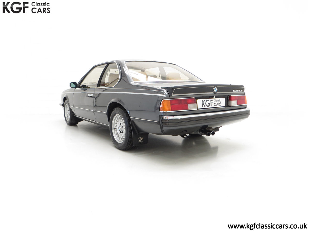 1980 A Magnificent E24 BMW 635 CSi with a Remarkable 23,047 Miles SOLD (picture 8 of 24)