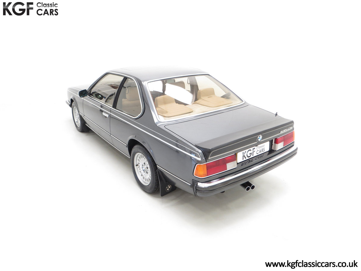 1980 A Magnificent E24 BMW 635 CSi with a Remarkable 23,047 Miles SOLD (picture 9 of 24)
