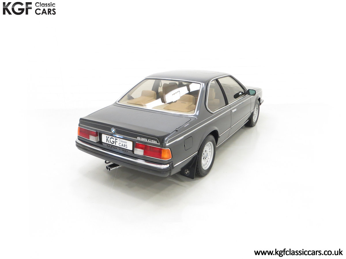 1980 A Magnificent E24 BMW 635 CSi with a Remarkable 23,047 Miles SOLD (picture 12 of 24)