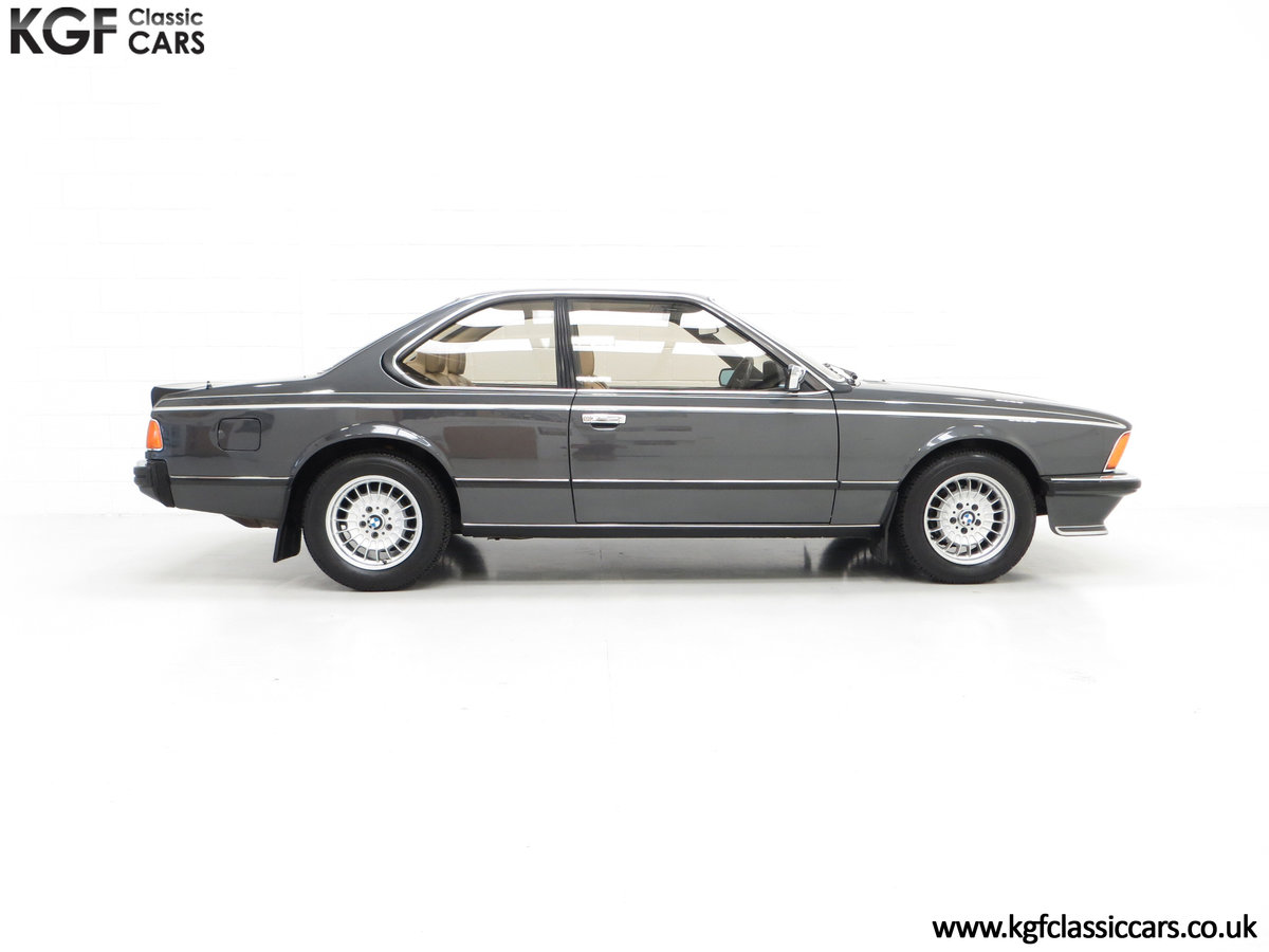 1980 A Magnificent E24 BMW 635 CSi with a Remarkable 23,047 Miles SOLD (picture 14 of 24)