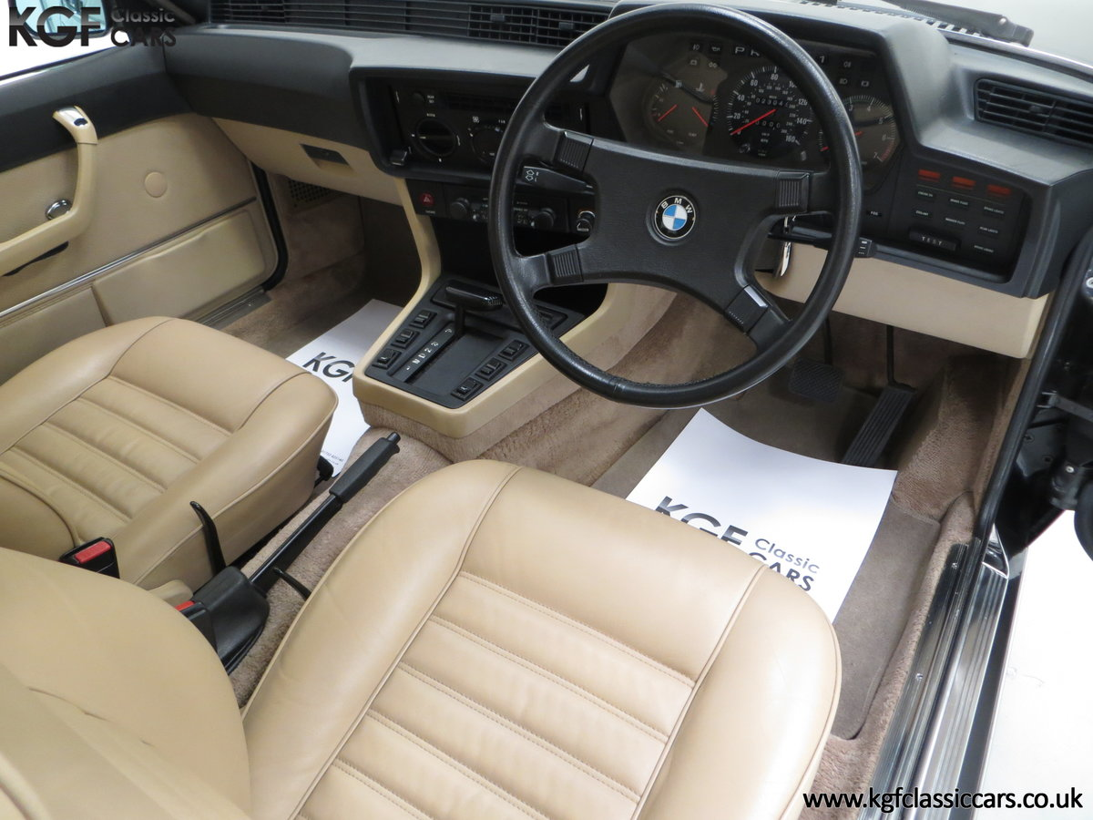 1980 A Magnificent E24 BMW 635 CSi with a Remarkable 23,047 Miles SOLD (picture 18 of 24)