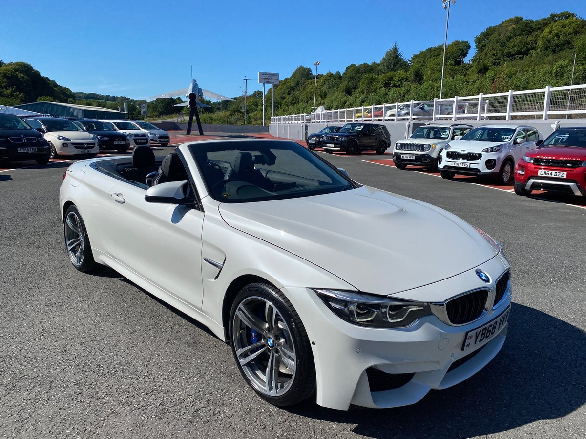 2018 68 BMW M4 3.0 M4 CONVERTIBLE MANUAL  For Sale (picture 1 of 6)